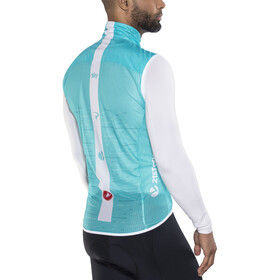 Castelli Team Sky Pro Light Wind/Rain Vest Men sky blue